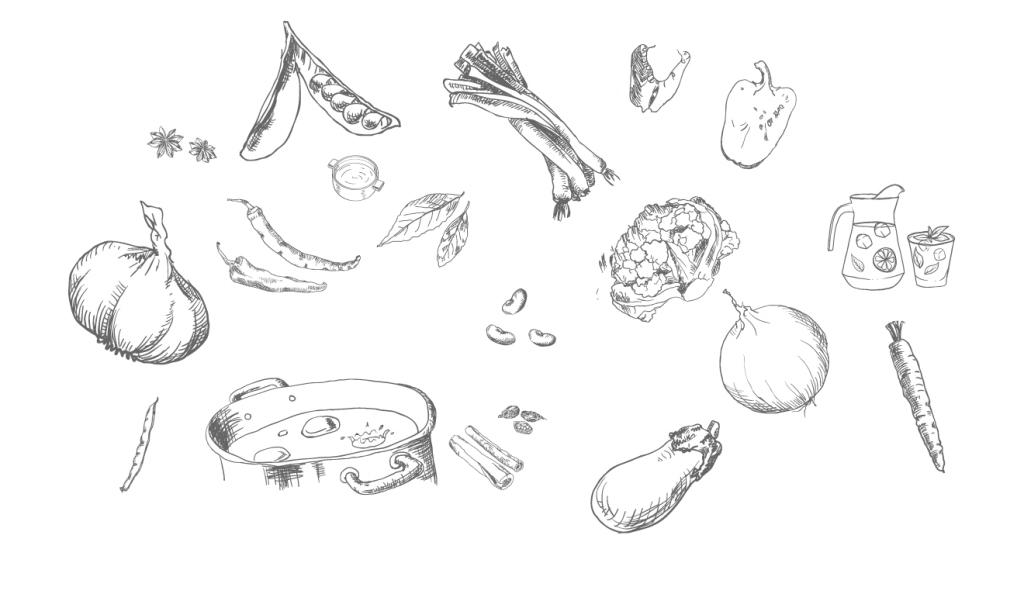 蔬菜手绘画图片大全
