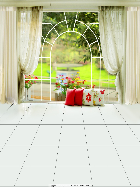 窗户边框贴砖效果图