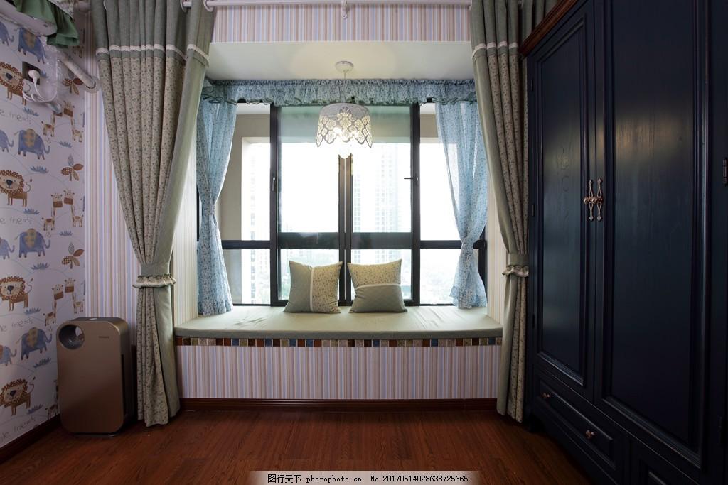 室内设计 装修 室内 家具 装修设计 环境设计        jpg 窗户 美式