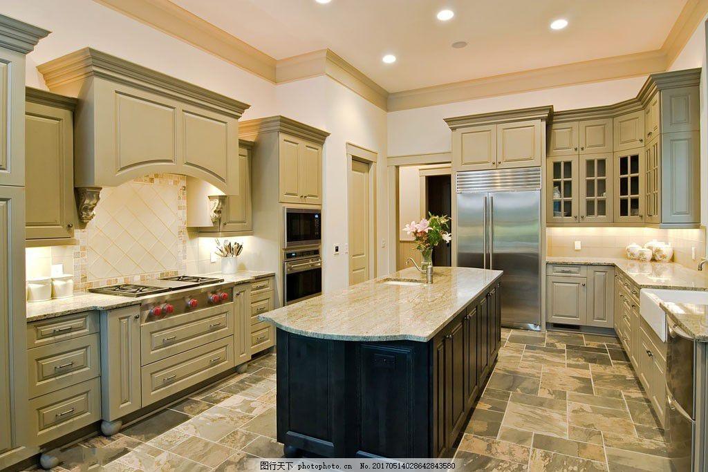 欧式厨房装修设计图片