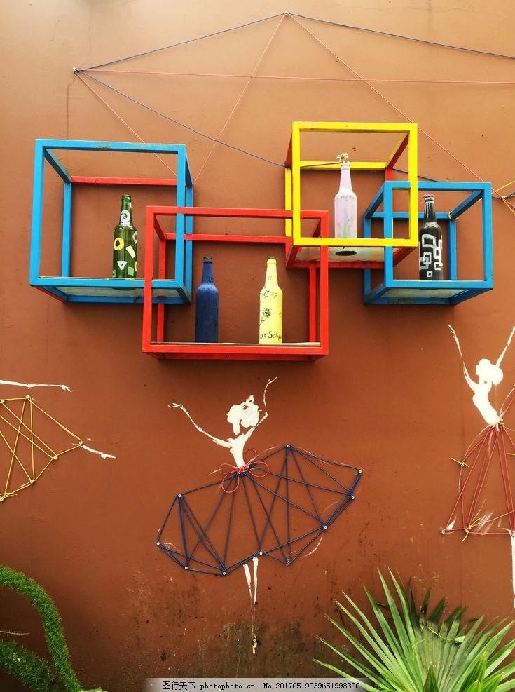 墙体创意小品雕塑 景观小品雕塑 墙体艺术 墙体雕塑 墙上立体造型