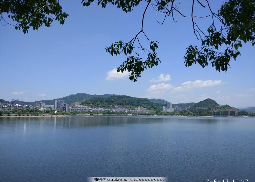 湖边景色图 千岛湖