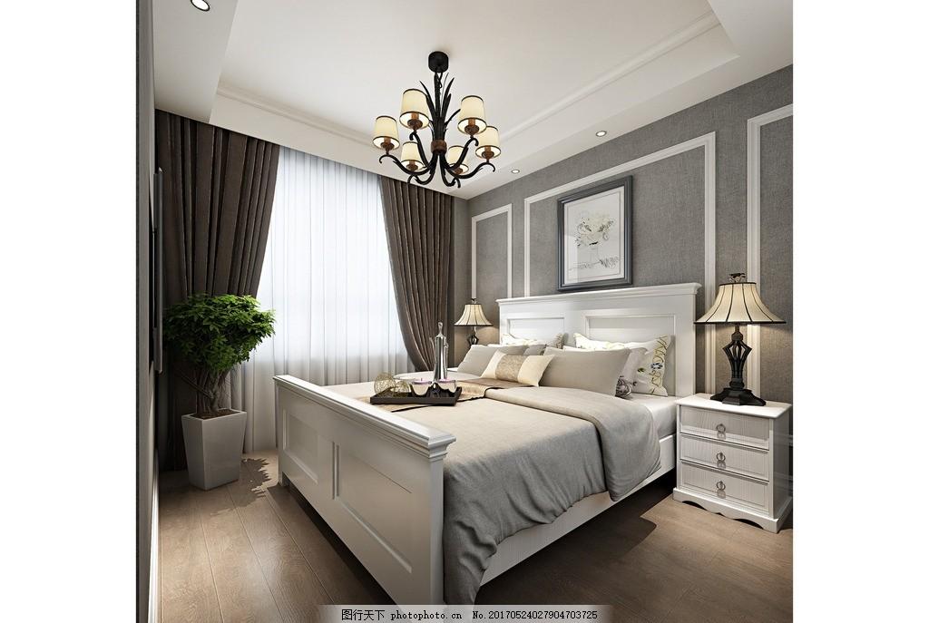 卧室效果 家装客厅效果 室内设计 装饰 装修 混搭风格 实景图