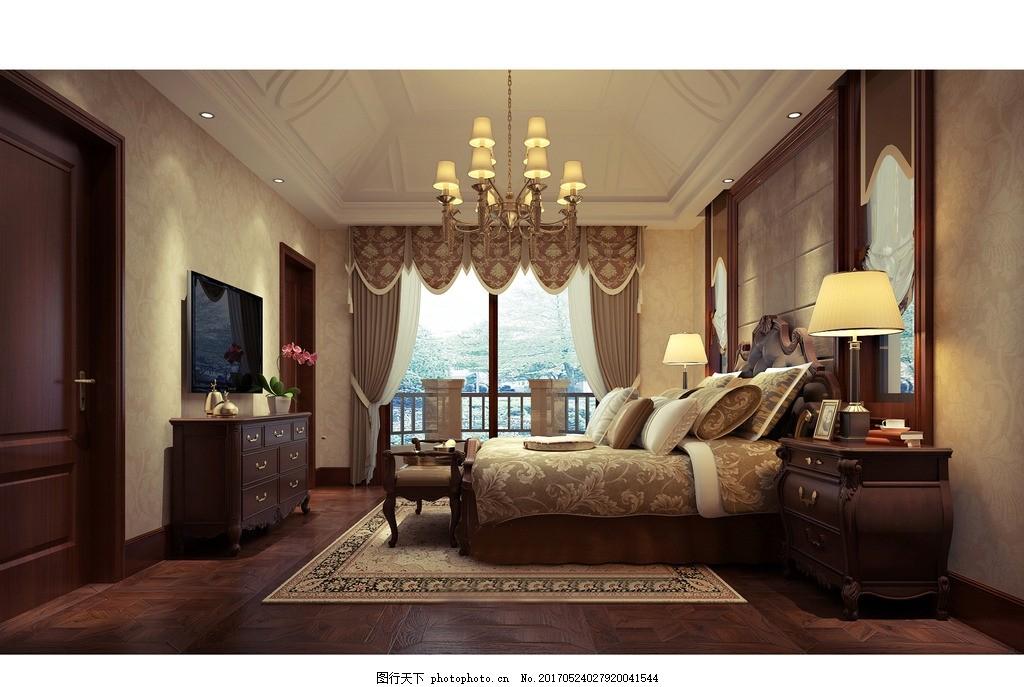 卧室效果 家装客厅效果 装饰 装修 混搭风格 实景图 效果图 摄影