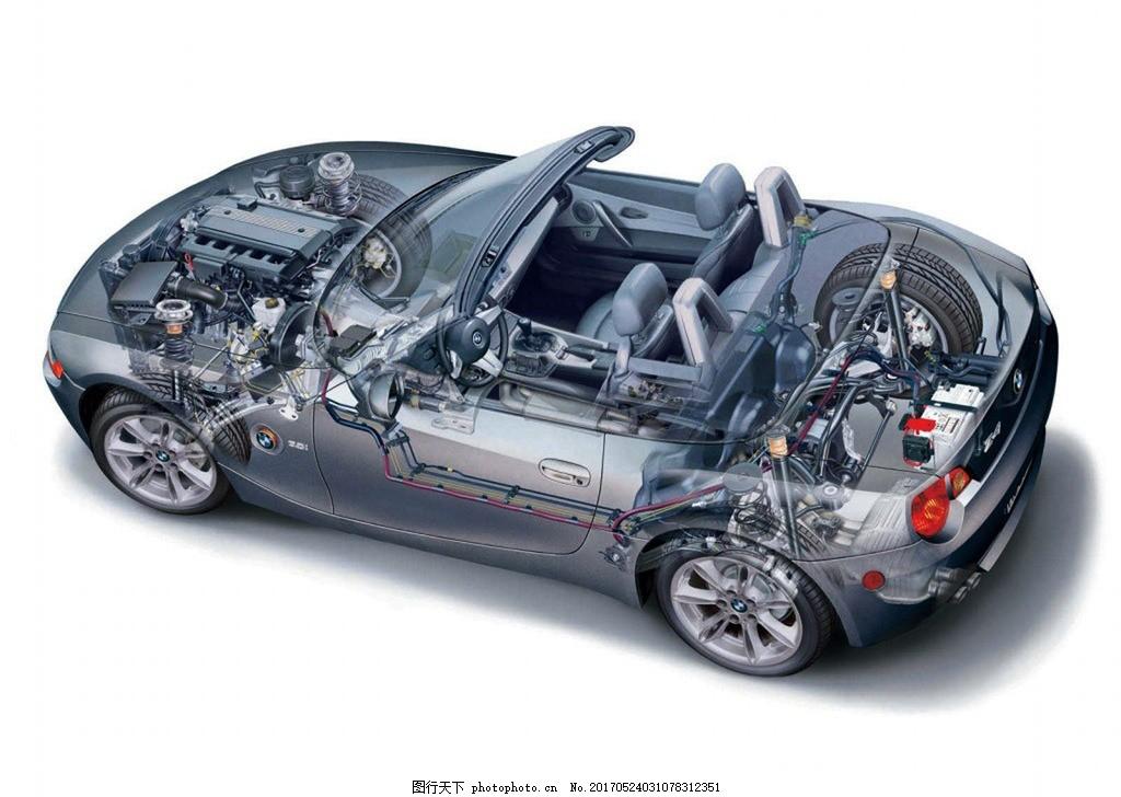 汽车内部结构图