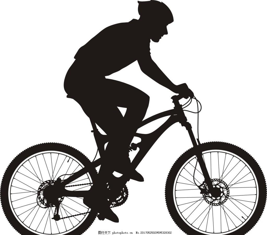 骑行 旅游 户外运动 单车剪影 自行车 共享 设计 广告设计 广告设计