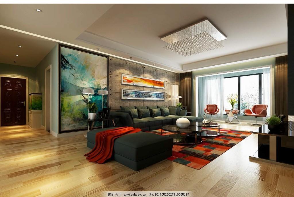 欧式 古典 家装 家装设计 家装风格 居家室内设计 床 茶几 台灯 地板
