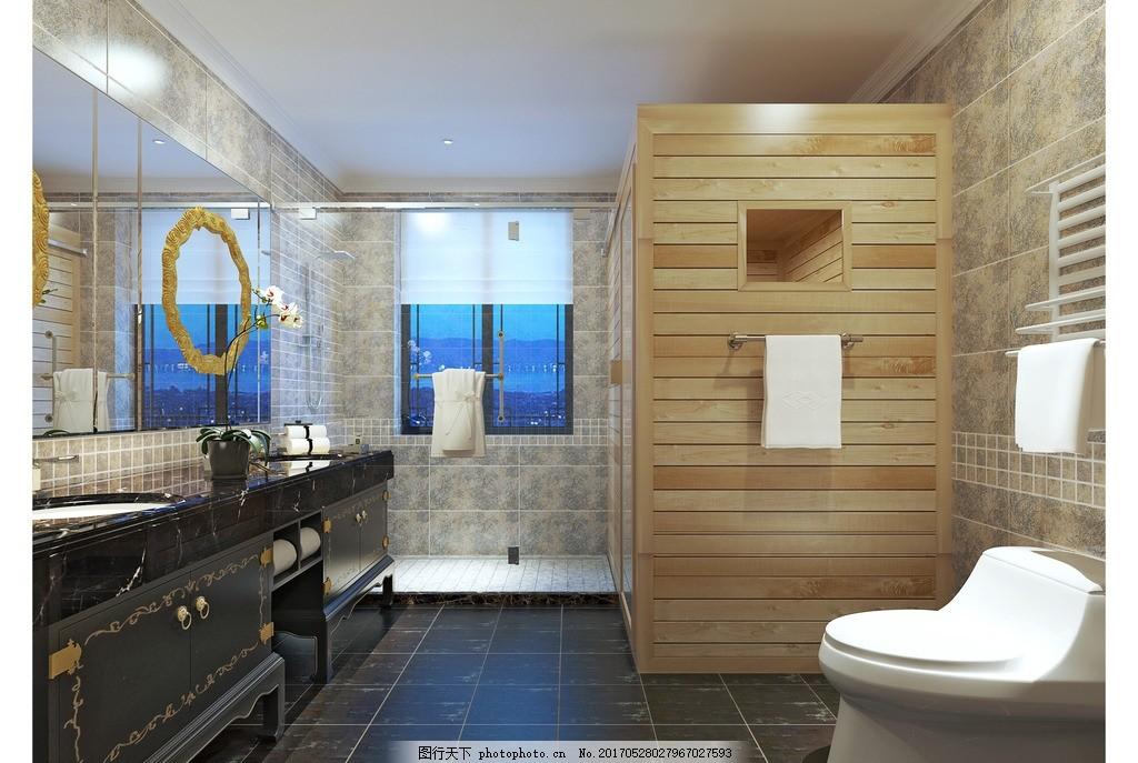 豪华欧式浴室图片大全