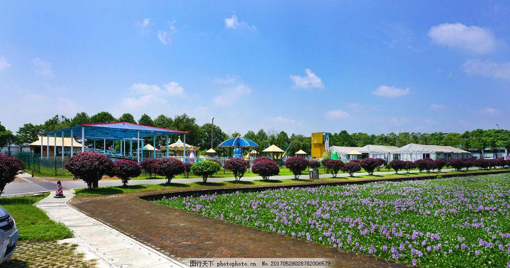 公园风景 望城县 格塘镇 千龙湖 国家湿地公园 风光 摄影 建筑园林