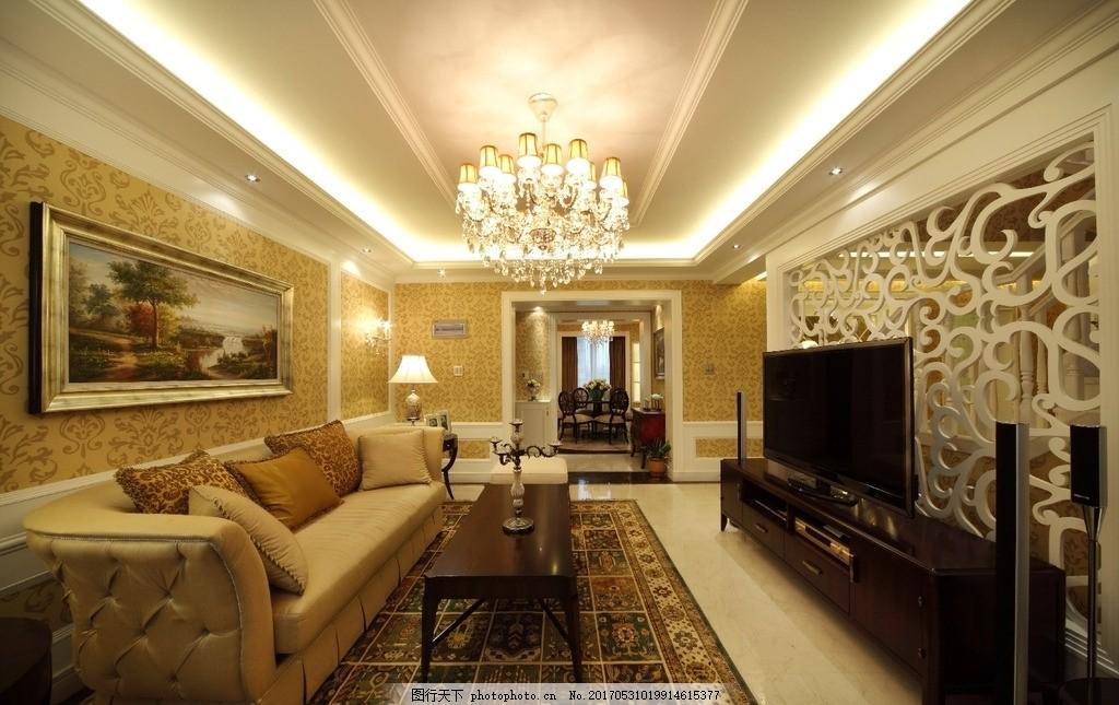 室内装饰实景图 室内设计 装饰 装修 家装 实景图 欧式 简欧 欧式简欧