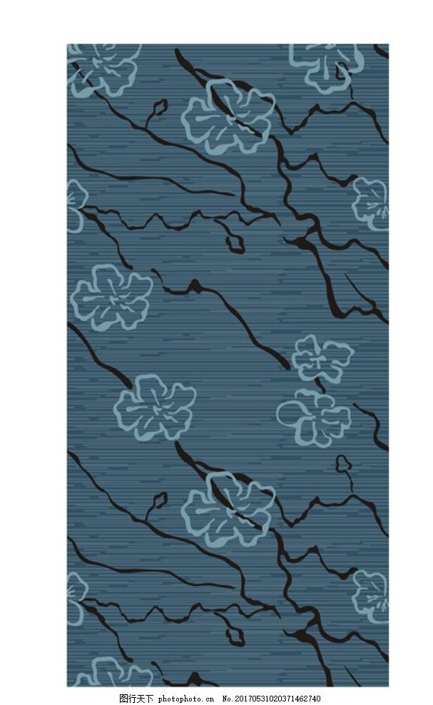 梅花地毯图 花纹 纹样 印花图 印染图 花边图案 花纹图案 酒店地毯