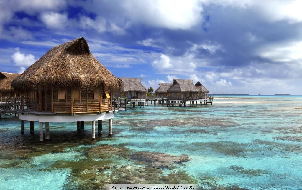 马尔代夫海岛风景