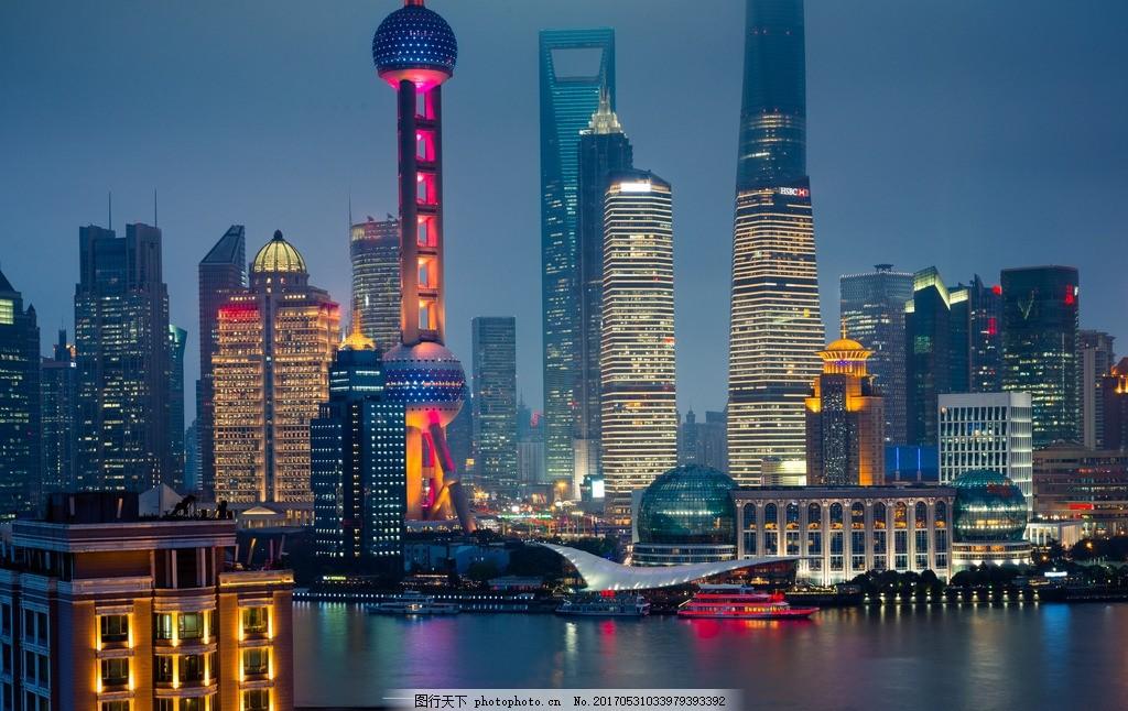 上海 唯美 风景 风光 旅行 人文 大都会 摩天楼 魔都 摄影