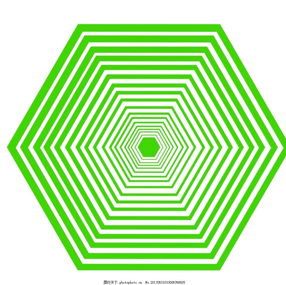 视力恢复 视力锻炼 视力测试 六边形 视力图