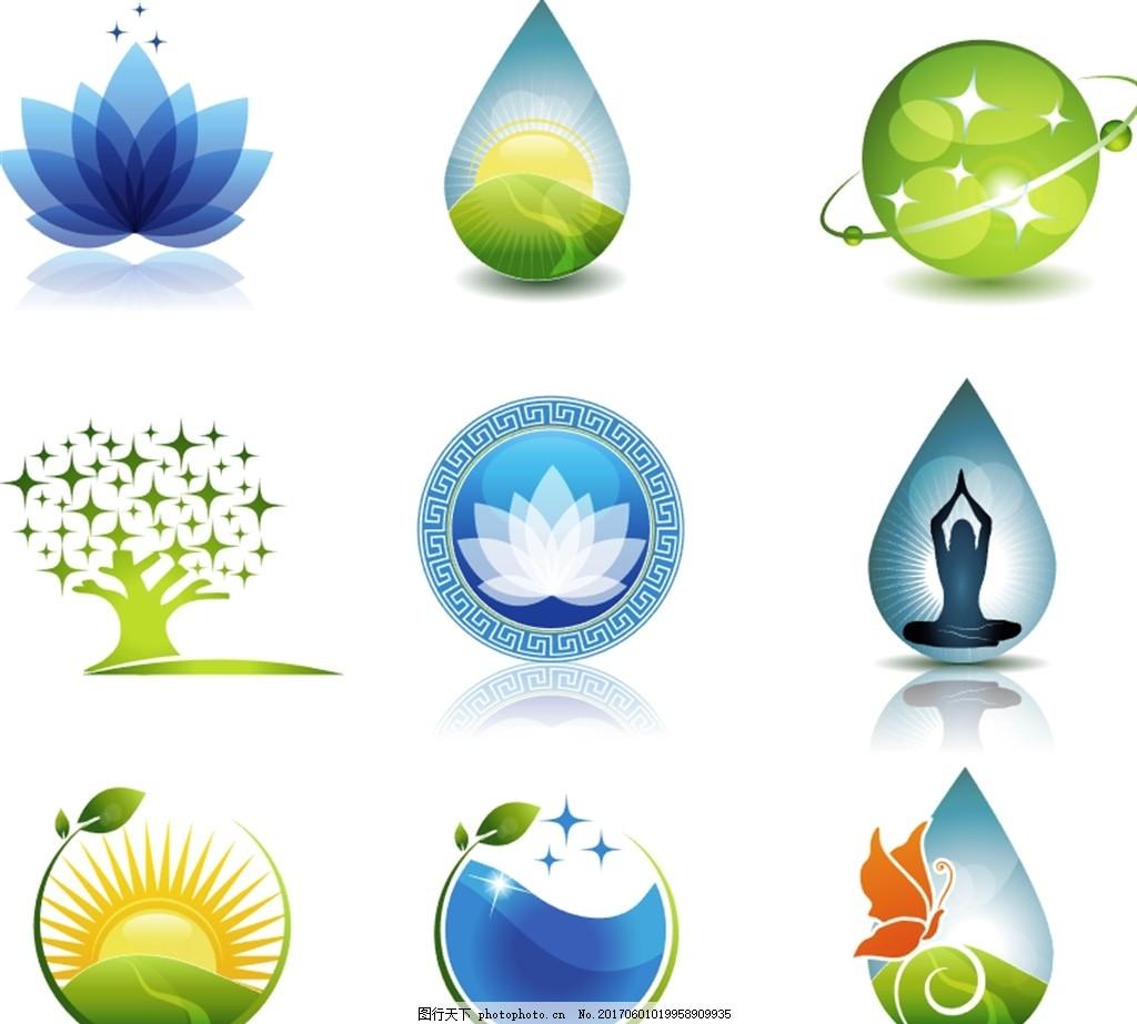生态logo 保护环境 爱护环境 生态环境 环境公益广告 环境卫生图片