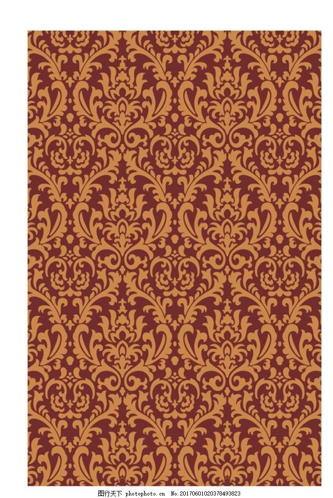 花边图案 花纹图 酒店地毯 连续图 四方连续图 二方连续图 欧式古典图片