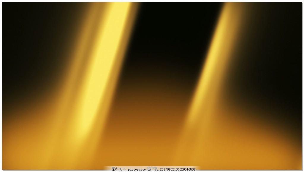 浮光掠影的金色光效背景视频素材 金光 动态光效 背景素材 柔和的光