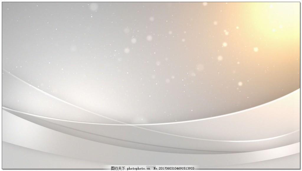 光效划过银色背景视频素材下载 高清视频