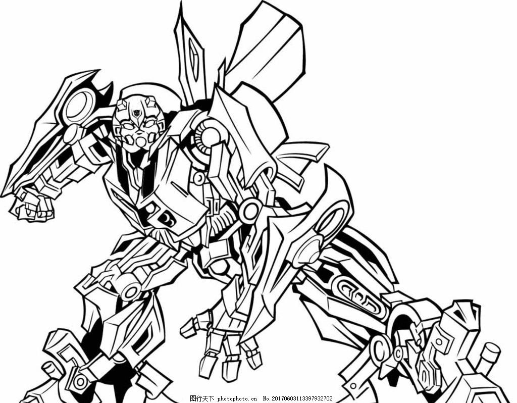 变形金刚矢量图 矢量人物 变形系列 明星偶像 动漫动画 动漫人物图片