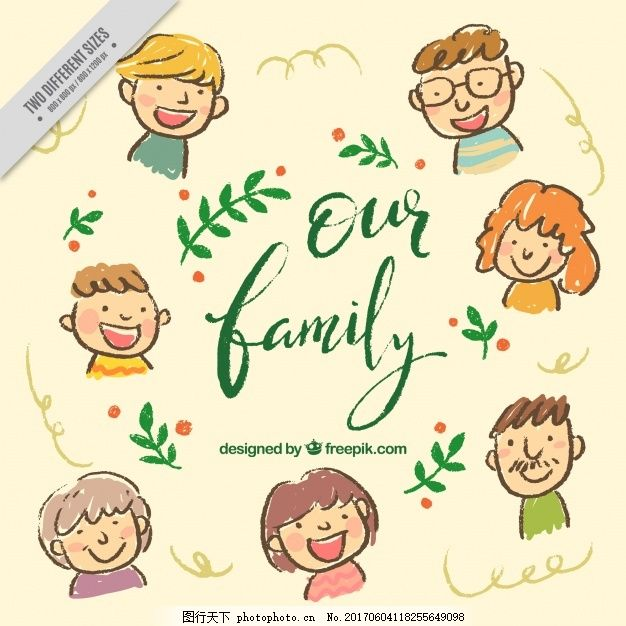 漂亮的手绘背景 人物 爱情 家庭 绘画 妈妈 爱情背景 父母 画画