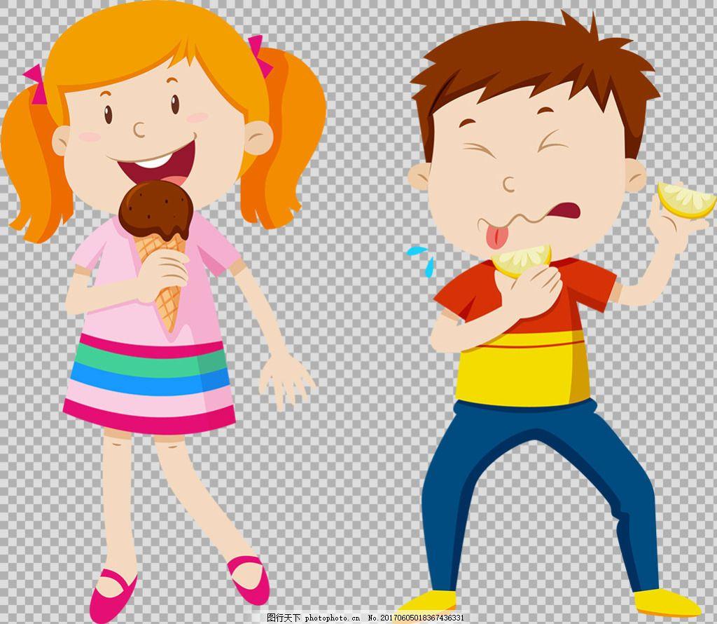 可爱学生儿童免抠png透明图层素材