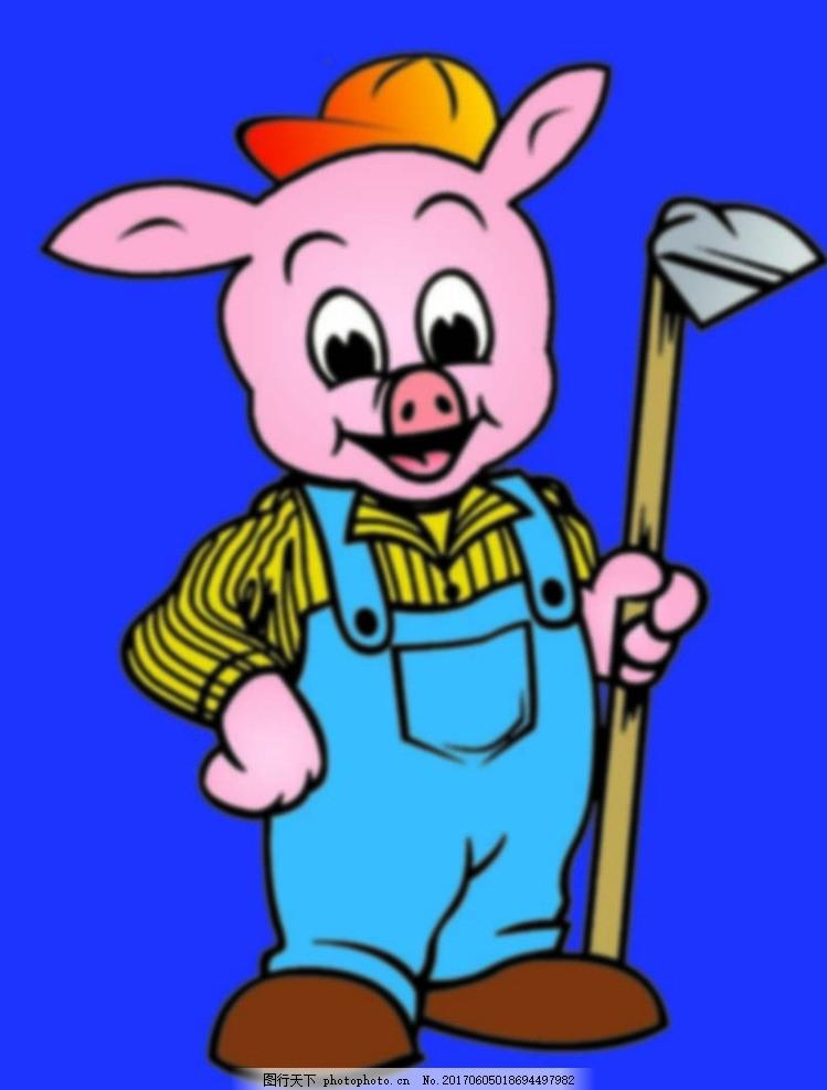 卡通猪 动漫猪 矢量猪 猪 可爱猪 宣传广告 设计 动漫动画 其他 72dpi