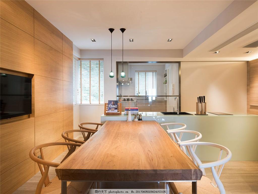 欧式风格餐厅装修效果图 室内设计装修效果图图片 设计素材 时尚