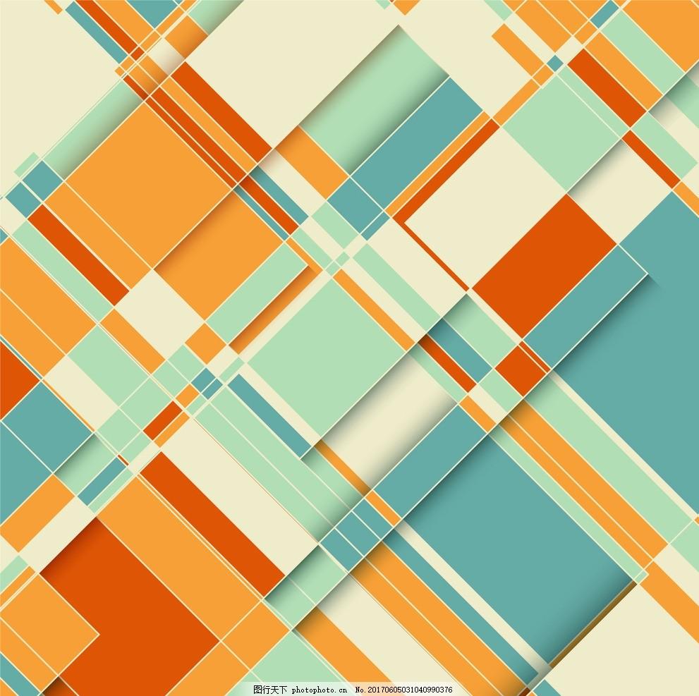 几何抽象背景 模式 纹理 壁纸 图形 白色 现代 图案图片