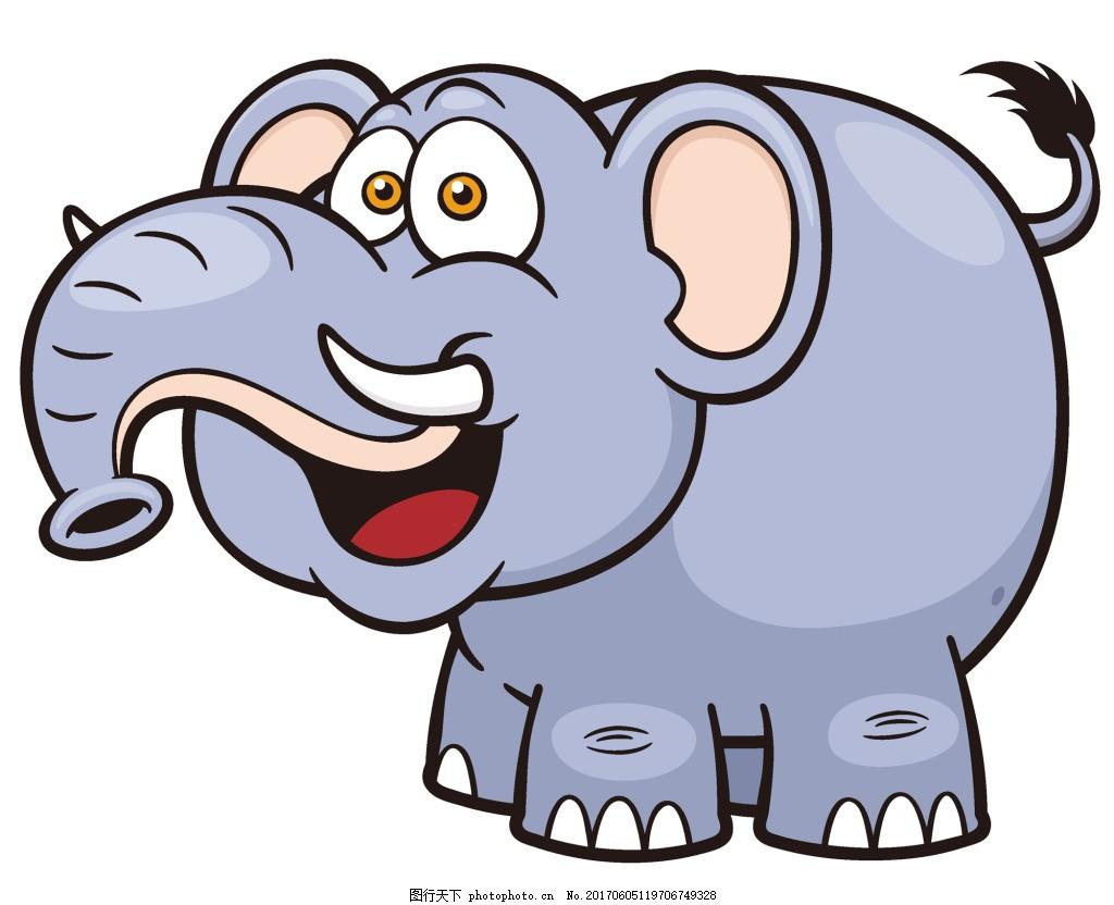 可爱的大象