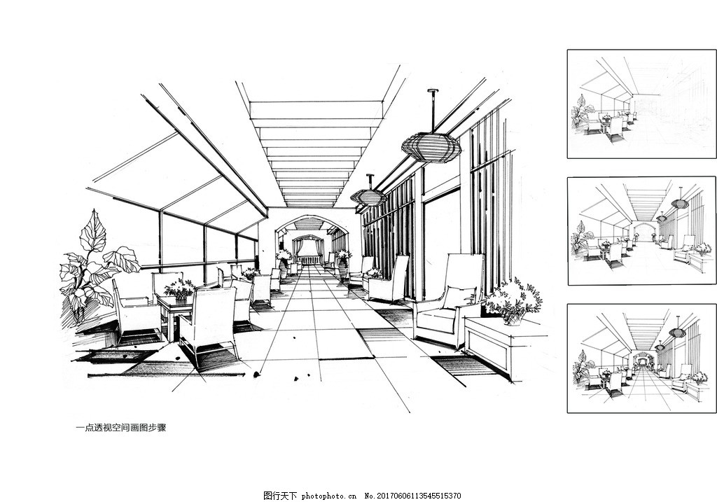 大禹手绘 室内手绘 室内设计 室内装饰 室内效果图 室内设计图