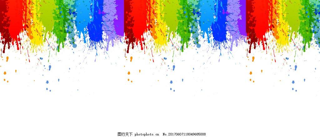 水彩简约背景 水彩 色彩 彩色 泼墨 墨迹 简约 简单 小清新 背景