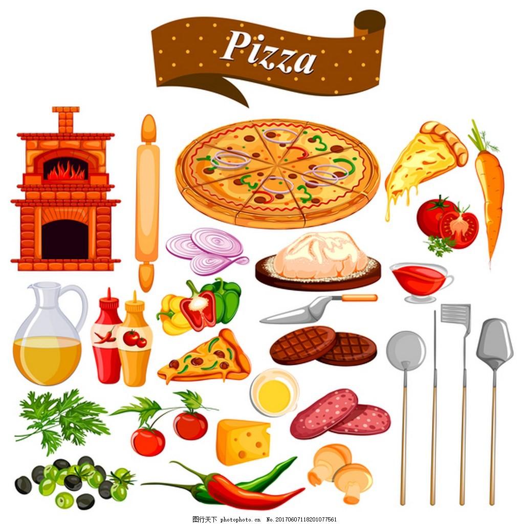 分享食物卡通画