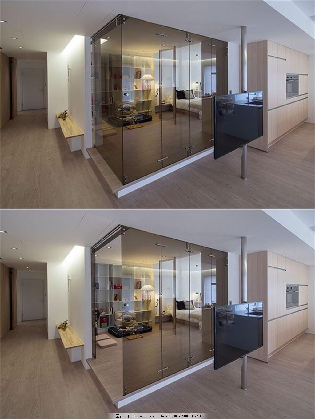 现代3d模型装修效果图 室内装修效果图图片免费下载 室内设计 设计