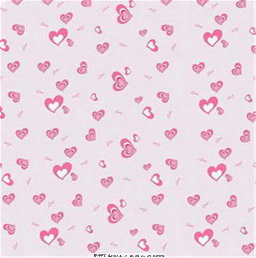 粉色爱心布纹壁纸 中式花纹背景 壁纸素材 无缝壁纸素材 欧式花纹