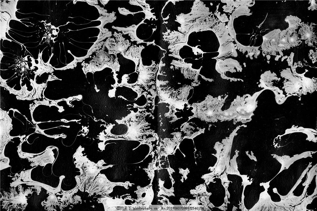 黑白纹理贴图素材