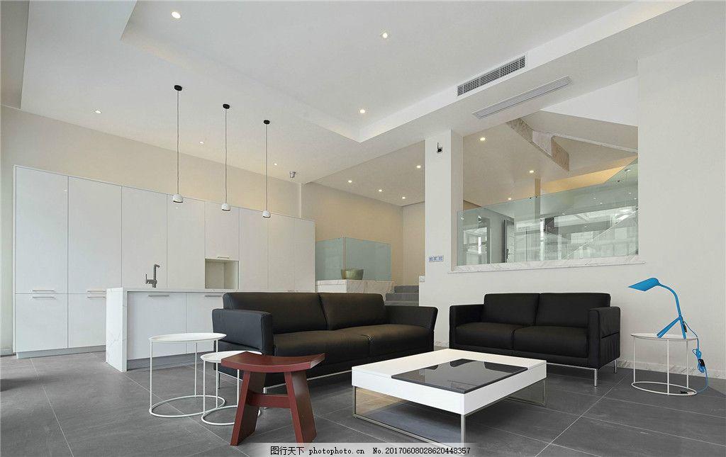 北欧简约客厅装修效果图 室内设计 家装效果图 欧式装修效果图 时尚