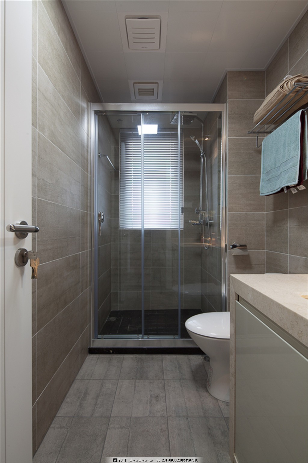 现代简约卫生间装修效果图 室内设计 家装效果图 时尚 北欧风格