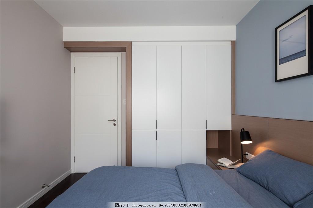 北欧简约卧室装修效果图