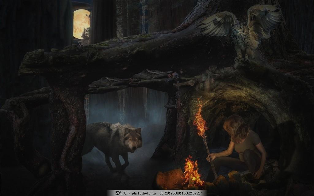 童话背景 唯美 炫酷 浪漫 梦幻 童话 浪漫童话 背景 童话森林 设计