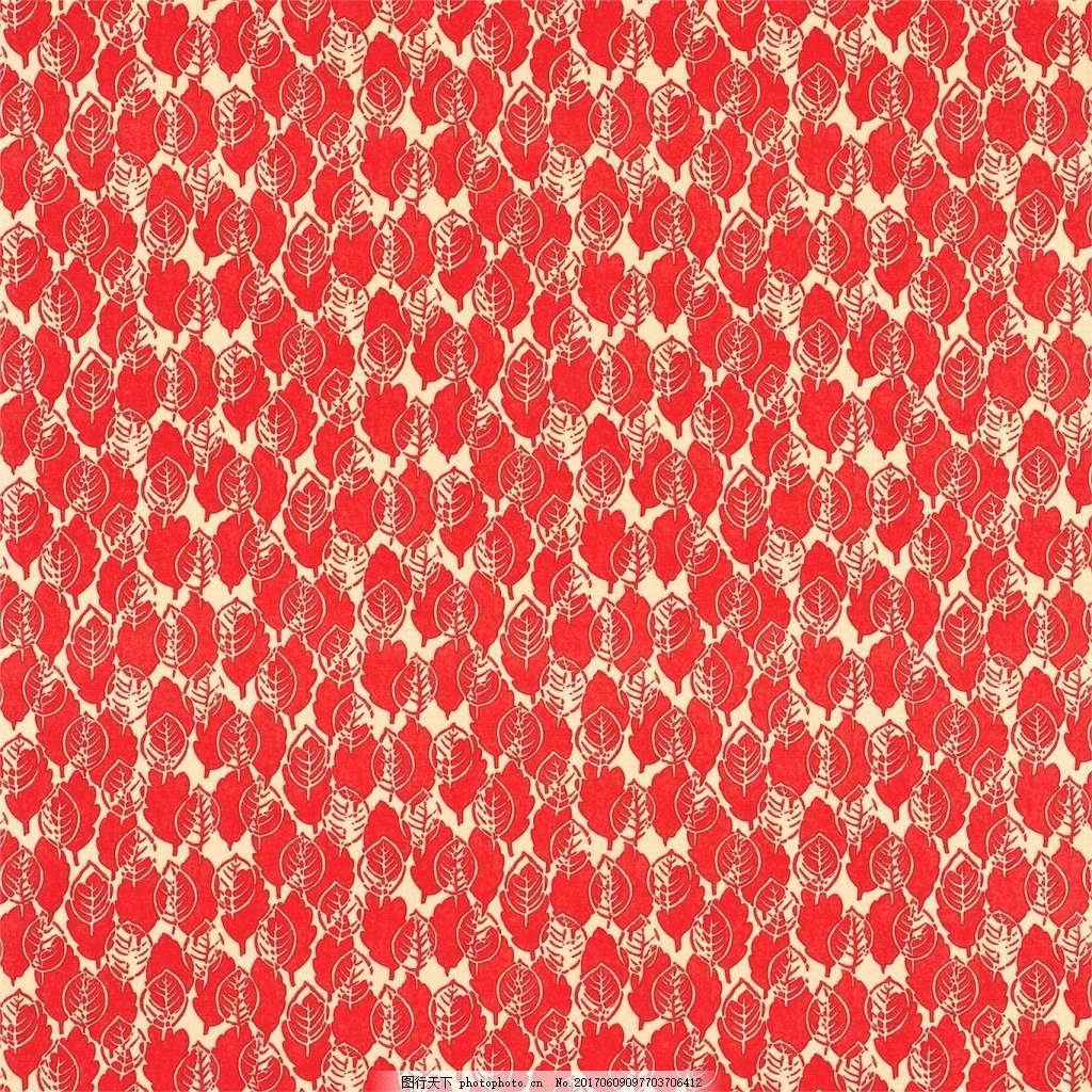 红色布纹壁纸 中式花纹背景图 无缝壁纸素材 壁纸图片下载 欧式花纹