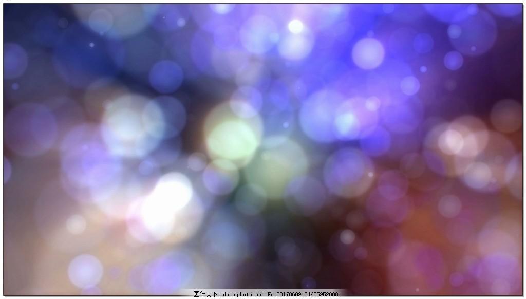 漂亮光晕光斑背景视频素材下载 紫色 光效 高清视频