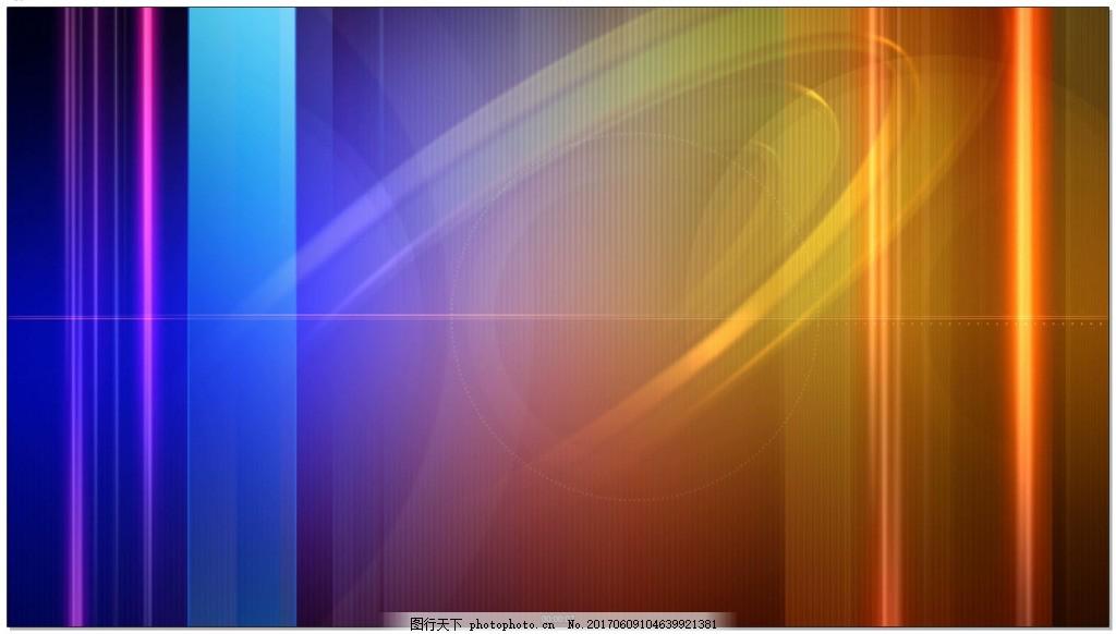 蓝色竖线组成的电视背景视频素材 新闻 企业 彩色 光效 背景素材