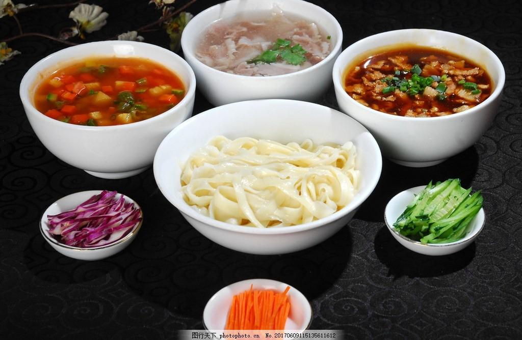 炸酱面 老北京 传统面食 菜谱 摄影 餐饮美食 传统美食