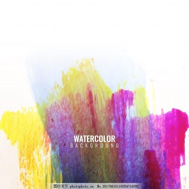 水彩笔画全彩色