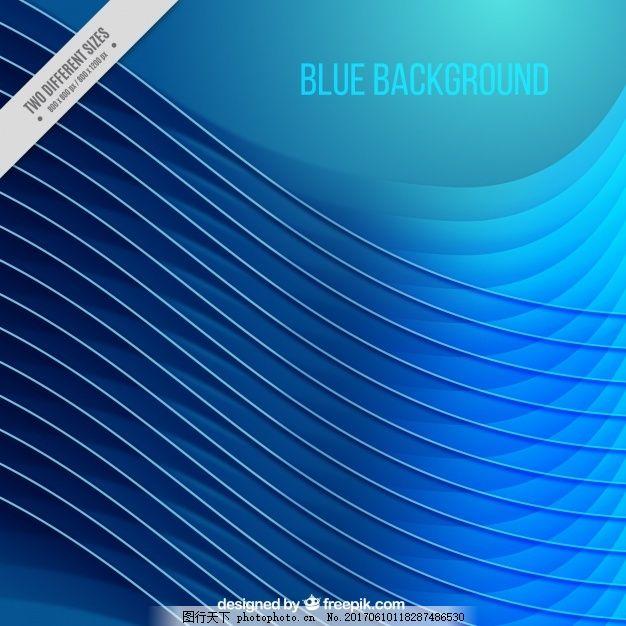 蓝色波背景 背景 抽象背景 抽象 波浪 蓝色 线条 创意 抽象线条 波浪