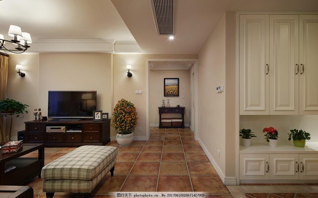 现代简约客厅装修效果图 室内设计 室内装修效果图图片 设计素材 jpg