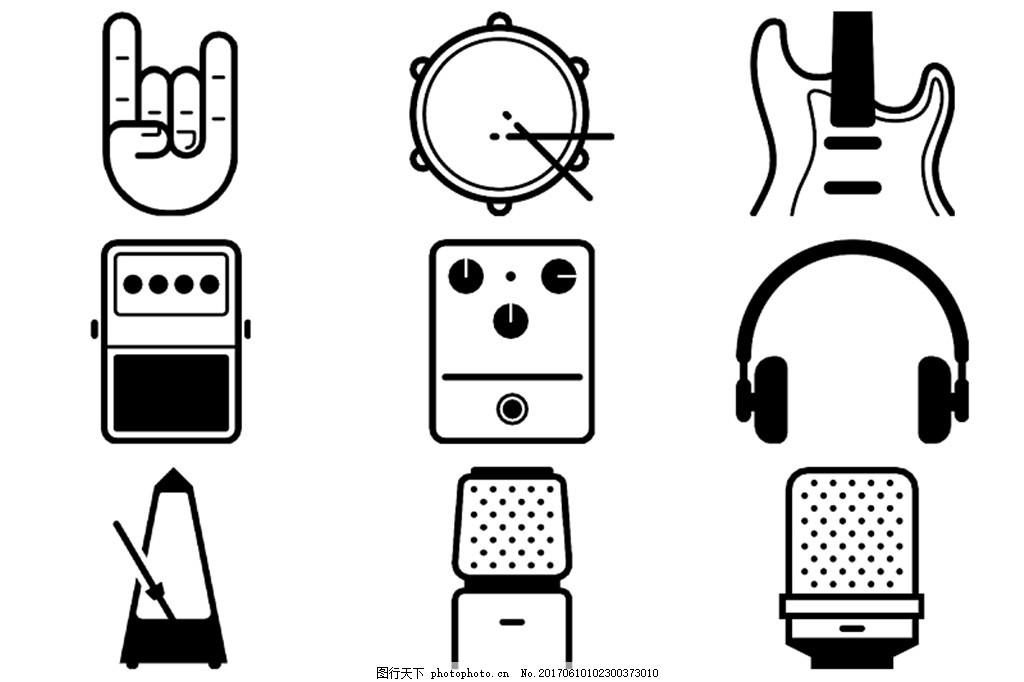 线性音乐图标icon