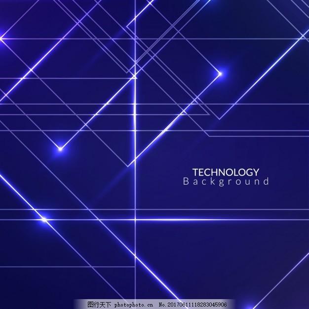 背景 抽象 技术 计算机 几何 线条 技术背景 点 现代 科技 装饰 电路