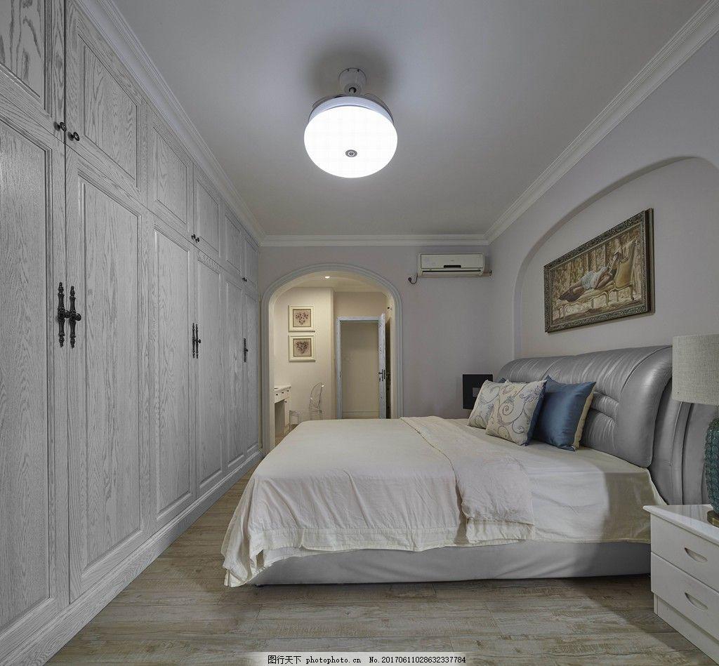 现代时尚卧室装修效果图 室内装修效果图图片 室内设计 设计素材