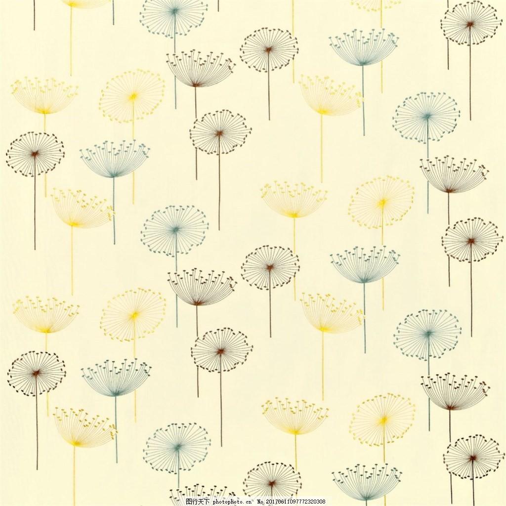 无缝壁纸 欧式花纹 装饰素材 装饰设计 壁纸图片下载  白色 荷花 布纹